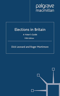 Leonard, Dick - Elections in Britain, ebook