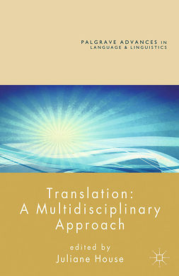 House, Juliane - Translation: A Multidisciplinary Approach, ebook