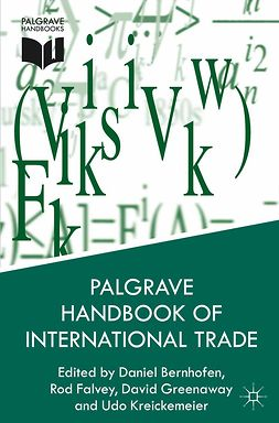 Bernhofen, Daniel - Palgrave Handbook of International Trade, ebook