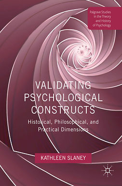 Slaney, Kathleen - Validating Psychological Constructs, ebook