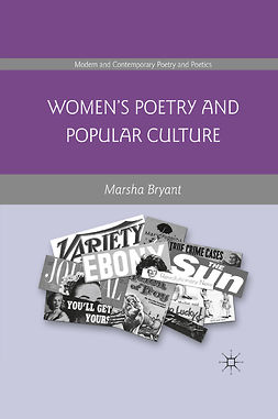 Bryant, Marsha - Women's Poetry and Popular Culture, e-bok