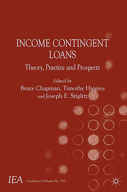 Chapman, Bruce - Income Contingent Loans, ebook