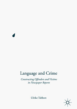 Tabbert, Ulrike - Language and Crime, ebook