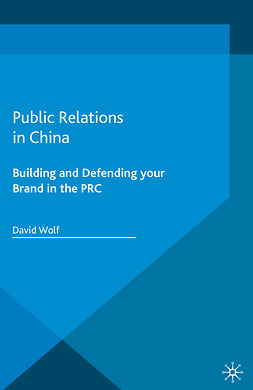 Wolf, David - Public Relations in China, ebook