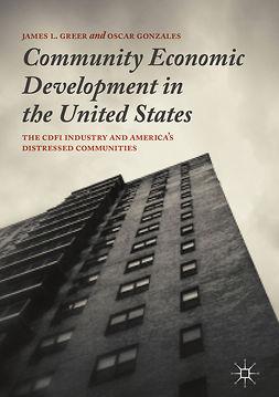 Gonzales, Oscar - Community Economic Development in the United States, e-bok