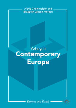 Chommeloux, Alexis - Contemporary Voting in Europe, ebook