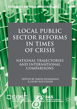 Bouckaert, Geert - Local Public Sector Reforms in Times of Crisis, e-bok