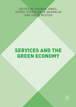 Hermelin, Brita - Services and the Green Economy, ebook
