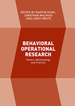 Kunc, Martin - Behavioral Operational Research, ebook
