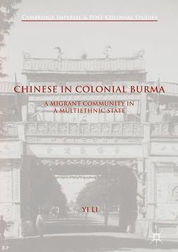 Li, Yi - Chinese in Colonial Burma, e-kirja
