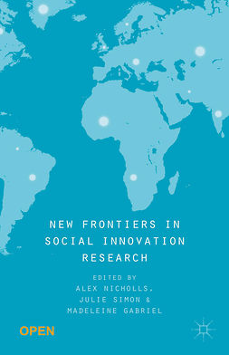 Gabriel, Madeleine - New Frontiers in Social Innovation Research, ebook