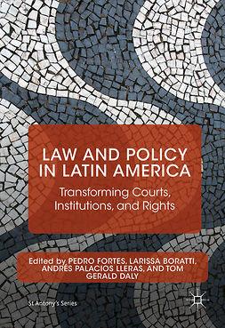 Boratti, Larissa - Law and Policy in Latin America, e-bok
