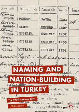 Türköz, Meltem - Naming and Nation-building in Turkey, ebook
