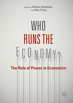 Craig, Nan - Who Runs the Economy?, ebook