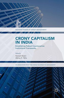 Khatri, Naresh - Crony Capitalism in India, e-bok