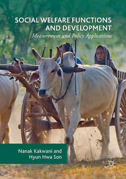 Kakwani, Nanak - Social Welfare Functions and Development, ebook