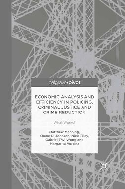 Johnson, Shane D. - Economic Analysis and Efficiency in Policing, Criminal Justice and Crime Reduction: What Works?, ebook