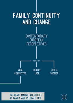 Lück, Detlev - Family Continuity and Change, e-kirja