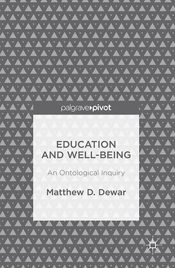 Dewar, Matthew D. - Education and Well-Being, ebook