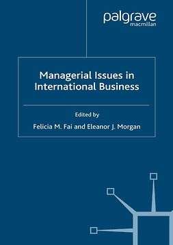 Fai, Felicia M. - Managerial Issues in International Business, ebook