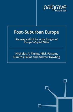 Ballas, Dimitris - Post-Suburban Europe, ebook