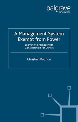 Bourion, Christian - A Management System Exempt from Power, e-kirja