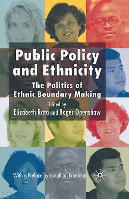 Friedman, Jonathan - Public Policy and Ethnicity, ebook