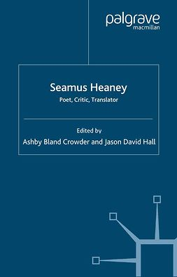 Crowder, Ashby Bland - Seamus Heaney, ebook
