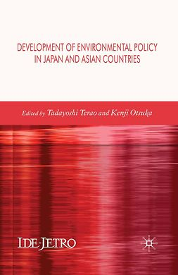Otsuka, Kenji - Development of Environmental Policy in Japan and Asian Countries, e-bok