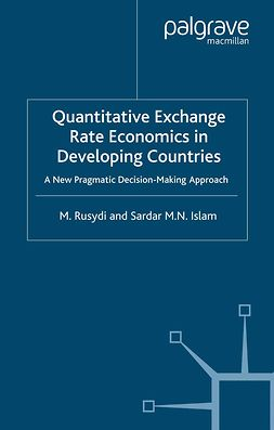 Islam, Sardar M. N. - Quantitative Exchange Rate Economics in Developing Countries, ebook