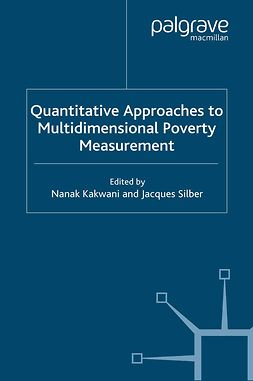 Kakwani, Nanak - Quantitative Approaches to Multidimensional Poverty Measurement, ebook