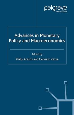 Arestis, Philip - Advances in Monetary Policy and Macroeconomics, e-bok