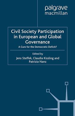 Kissling, Claudia - Civil Society Participation in European and Global Governance, e-kirja