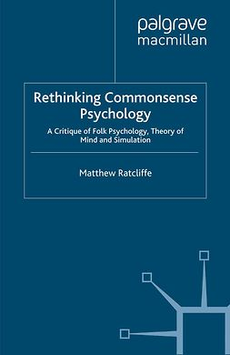 Ratcliffe, Matthew - Rethinking Commonsense Psychology, e-kirja
