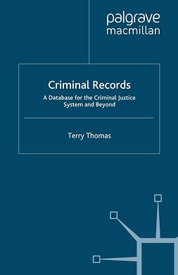 Thomas, Terry - Criminal Records, ebook