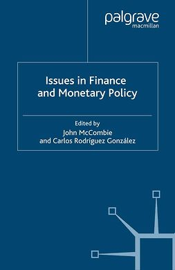 González, Carlos Rodríguez - Issues in Finance and Monetary Policy, ebook