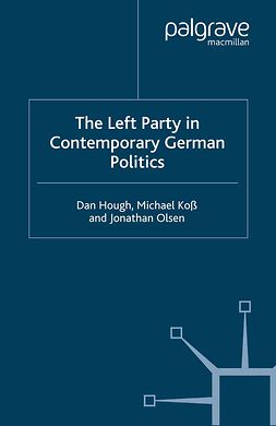 Hough, Dan - The Left Party in Contemporary German Politics, ebook