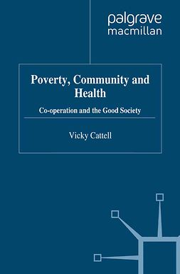 Cattell, Vicky - Poverty, Community and Health, ebook