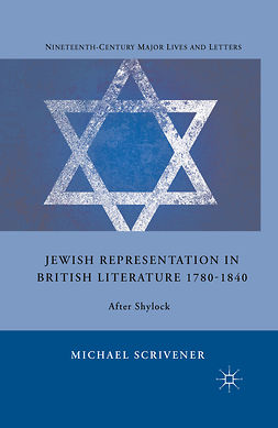 Scrivener, Michael - Jewish Representation in British Literature 1780–1840, ebook
