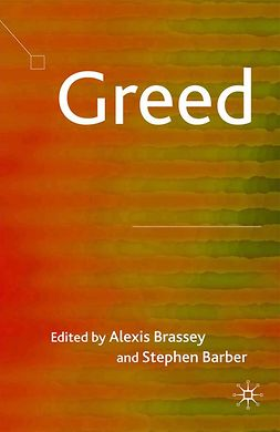 Barber, Stephen - Greed, ebook