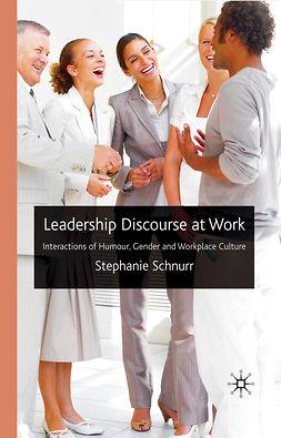 Schnurr, Stephanie - Leadership Discourse at Work, ebook