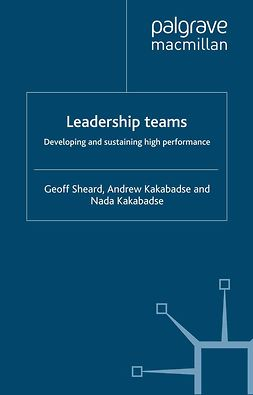 Kakabadse, Andrew - Leadership teams, ebook