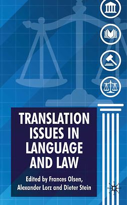 Lorz, Alexander - Translation Issues in Language and Law, ebook