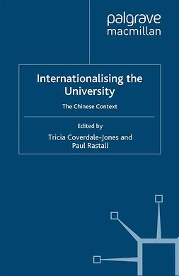 Coverdale-Jones, Tricia - Internationalising the University, ebook