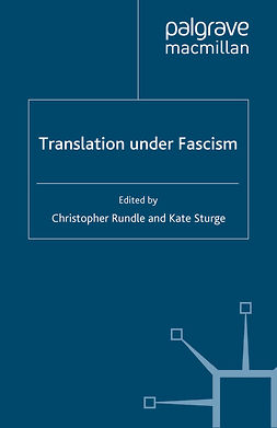 Rundle, Christopher - Translation Under Fascism, ebook