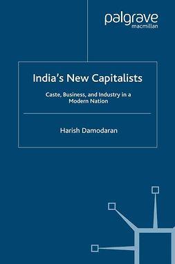 Damodaran, Harish - India's New Capitalists, ebook