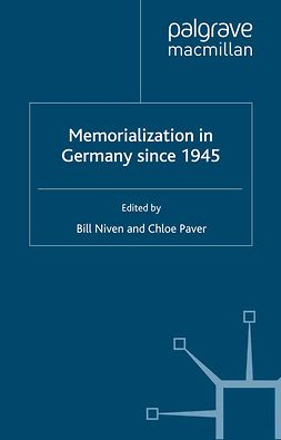 Niven, Bill - Memorialization in Germany since 1945, ebook