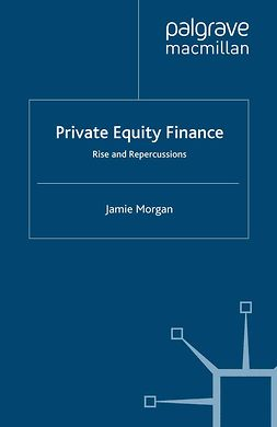 Morgan, Jamie - Private Equity Finance, ebook