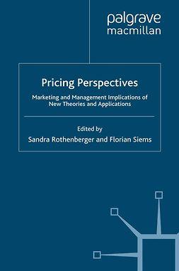Rothenberger, Sandra - Pricing Perspectives, ebook