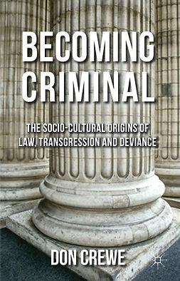 Crewe, Don - Becoming Criminal, ebook